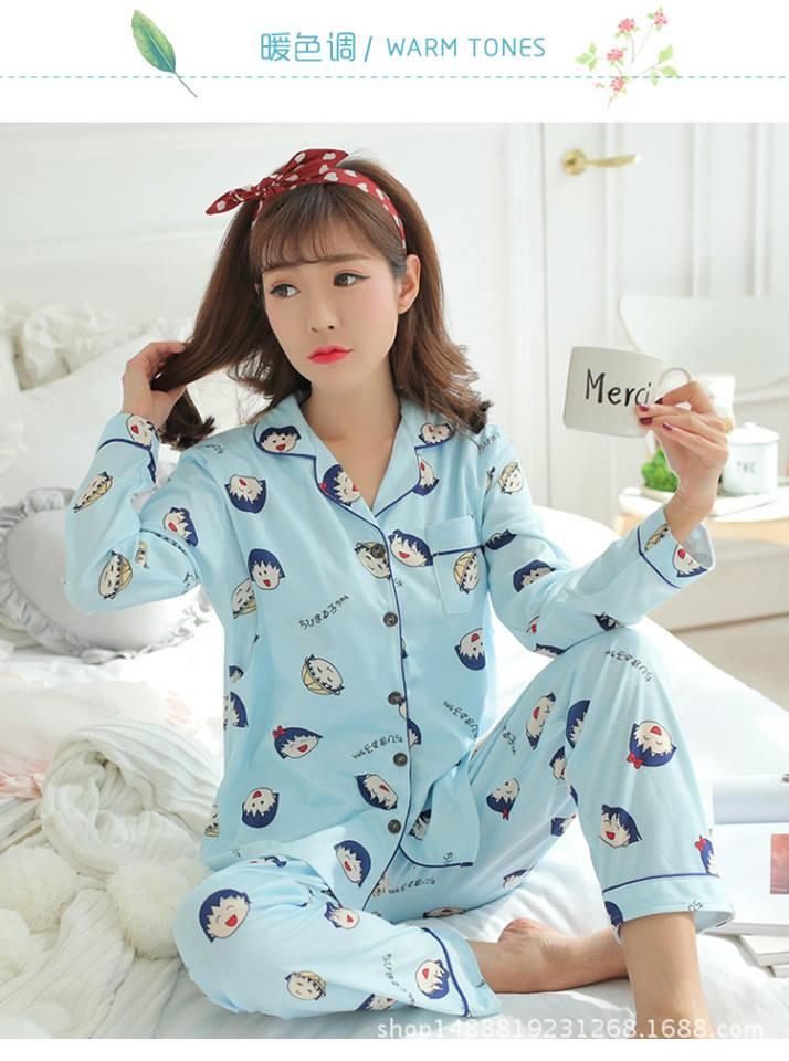 Lựa Chọn Bộ Đồ Ngủ Pijama Thêm Màu Xanh Nhẹ