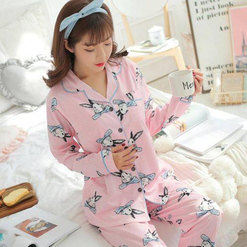 Bộ Đồ Ngủ Pijama Cho Bà Bầu TMĐB02 Siêu Xinh Đẹp*